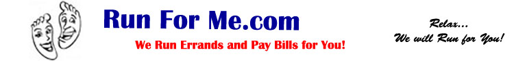 Run For Me.com - Pattaya's First and Only Bill Paying Service!